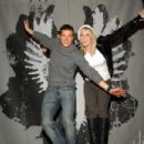 Bear Grylls at the Hard Rock Cafe Celebrate STEP Up Campaign.