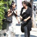 Actress Vanessa Hudgens and a friend spotted out shopping in Los Angeles, California on July 22, 2015
