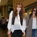 Florence Welch departing on a flight at LAX airport in Los Angeles, California on September 4, 2015
