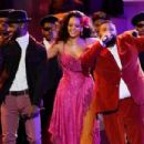Rihanna At The 60th Annual GRAMMY Awards - Show