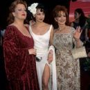 Wynonna Judd, Ashley Judd and Naomi Judd attends The 70th Annual Academy Awards - Arrivals (1998)