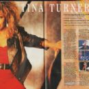 Tina Turner - Smash Hits Magazine Pictorial [United Kingdom] (13 August 1986)