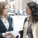 "Emily Deschanel - ""Bones"" Episode 401 & 402 ""Yanks In The U.K."" Press Still"