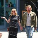 Kirsten Dunst with husband out in Hollywood - 454 x 683