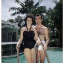 Elizabeth Taylor and William D. Pawley, Jr