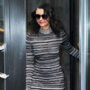 Nina Dobrev – Outside Sirius XM in NYC 03/01/2019