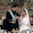 Prince Felipe of Spain and Letizia Ortiz Rocasolano, May, 2004