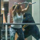 Jennifer Lopez – Morning workout in Santa Monica