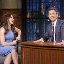 Sophia Bush on 'Late Night with Seth Meyers' in New York City