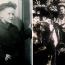 Former President Bill Clinton is seen here in these early photos from his childhood. In the image with the pony, Clinton is 4-5 years old. The other image was taken during the 1950s
