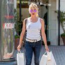 Nicollette Sheridan – Shopping Candids in Calabasas - 454 x 681