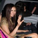Nina Dobrev leaving the Hard Rock Cafe at Comic-Con 2012