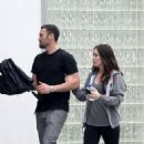 Megan Fox and Brian Austin Green leaving church in Los Angeles
