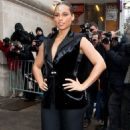 Alicia Keys: at the Chanel Read-To-Wear Runway Show