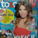 Edyta Górniak - To & Owo Magazine Cover [Poland] (20 August 2016)