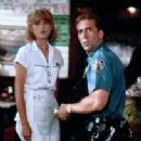 Nicolas Cage and Bridget Fonda