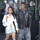 Nick Cannon and Christina Milian the Matrix Reloaded - Premiere - Mann Village Theater, Westwood, CA - May 7, 2003 - 313 x 480