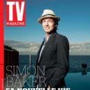 Simon Baker - TV Magazine Cover [France] (23 August 2015)