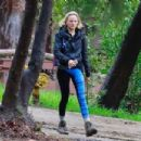 Malin Akerman at Griffith Park in Los Angeles - 454 x 303