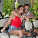 Katie Price and boyfriend Carl Woods on holiday in the Maldives - 454 x 547