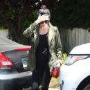 Jenna Dewan Tatum Leaving a Friend's House in Los Angeles