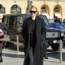 Rosie Huntington Whiteley – Arriving at Gare du Nord in Paris - 454 x 681