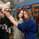 Lily Collins – Stella McCartney Resort 2018 presentation in New York