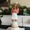 Nina Agdal Celebrates Her Birthday At Lacoste Suite Miami Open In Miami Beach