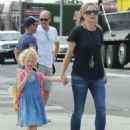 Rebecca Gayheart and her daughter Billie Dane spotted out and about in West Hollywood, California on September 8, 2014 - 454 x 576