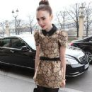 Lily Collins out in Paris (March 6)