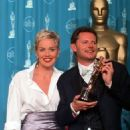 Sharon Stone and winner Mike Van Diem - The 70th Annual Academy Awards (1998) - Awards