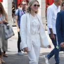 Naomi Watts in White – Out in Venice