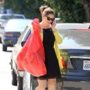 Jennifer Garner: visiting a friend in Pacific Palisades