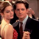 Gabrielle Anwar and Michael J. Fox