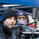 Director JAUME COLLET-SERRA sets up a shot on the set of Dark Castle Entertainment's horror thriller 'Orphan,' a Warner Bros. Pictures release. Photo by Rafy