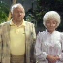 Estelle Getty and Mickey Rooney