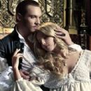 Jonathan Rhys Meyers and Anabelle Wallis