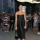 Adriana Lima Attends the 4th Annual Fashion Media Awards at Park Hyatt