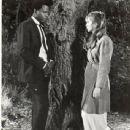 Joanna Shimkus and Sidney Poitier