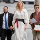 Charlize Theron Is Seen At 'Jimmy Kimmel Live'