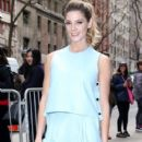 Ashley Greene at 'Live with Kelly & Michael' in New York City, New York on April 7, 2016 - 404 x 600