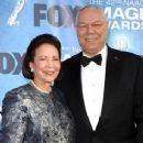 Colin Powell and Alma Johnson