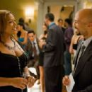 Queen Latifah and Common in JUST WRIGHT (Photo by David Lee)