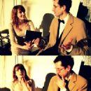 Florence Welch and Stuart Hammond - 454 x 575