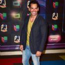 Cristián de la Fuente- Univision's Premios Juventud 2015- Red Carpet - 399 x 600