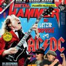 Angus Young - Metal&Hammer Magazine Cover [Germany] (June 2016)