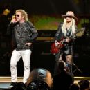 Orianthi and Sammy Hagar perform onstage during MusiCares Person of the Year honoring Aerosmith at West Hall at Los Angeles Convention Center on January 24, 2020 in Los Angeles, California - 454 x 321