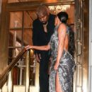 Kim Kardashian and Kanye West – Arrives at Cher Musical in New York