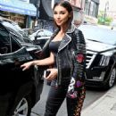 Chantel Jeffries Leaves Lower East Side Hotel in New York City - 454 x 715