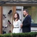 Liam Neeson and Olivia Wilde Film in Rome